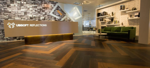 corian reception desk, newcastle upon tyne,
