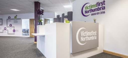 Office fit out North Tyneside for Victims First