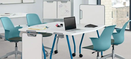steelcase node chair with cushion